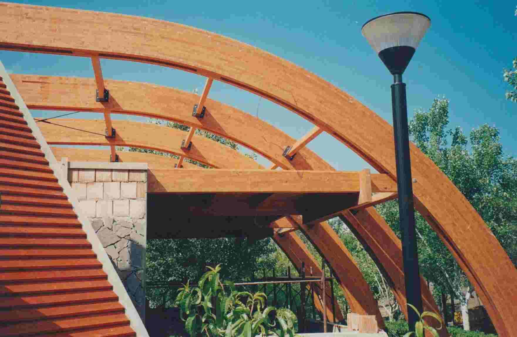 Esempio di struttura in legno realizzata da Edilwood