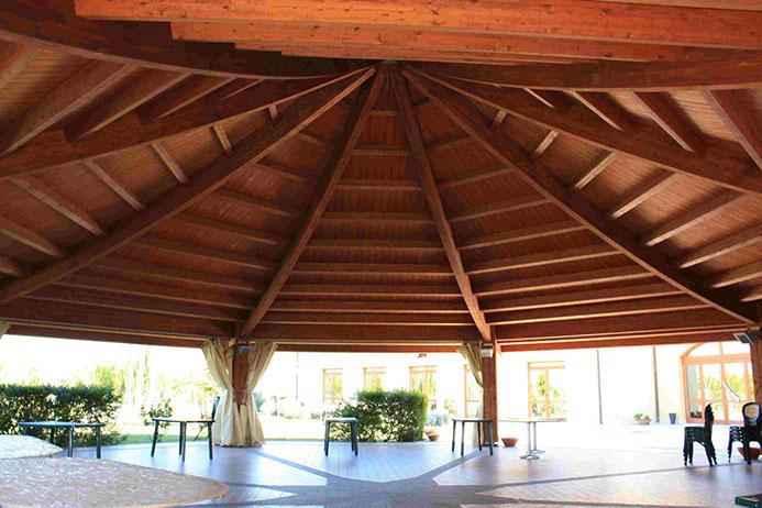 Le nostre grandi strutture in legno