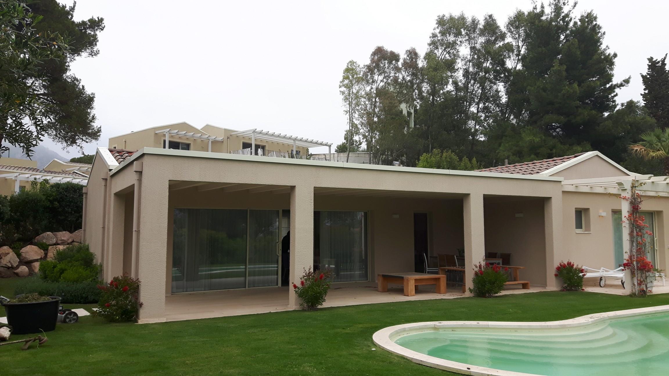 Villa Con strutture in legno