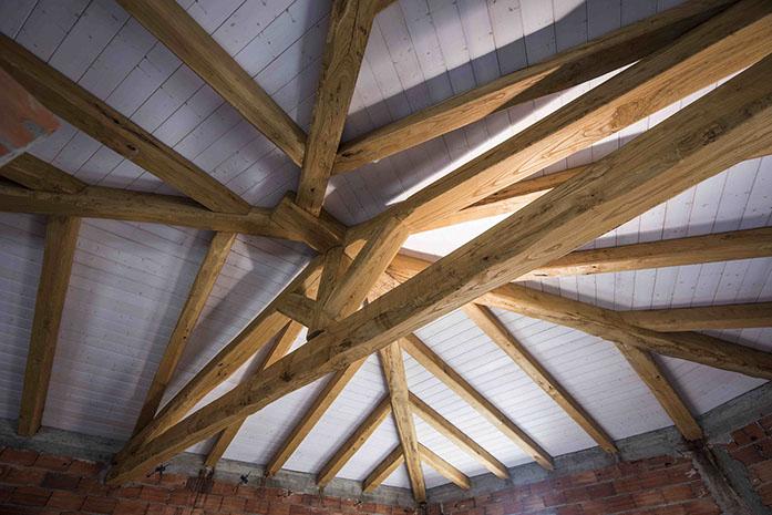 tetti in legno Sardegna